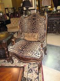 cow print chairs animal print parsons chairs