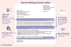 how do you format a letter job application letter format and writing tips