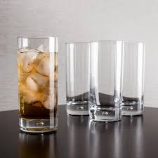 essentials home. Home Essentials Red Series Bubble Hi-Ball Glass (Clear) - Set Of 4 E