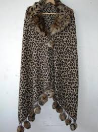 <b>Designer Woolen Fur</b> Shawls at Rs 2100 /piece   <b>Fur</b> Shawl   ID ...