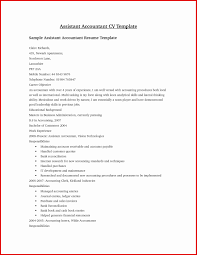 Accounts Payableerk Sample Job Description Account Resume Image
