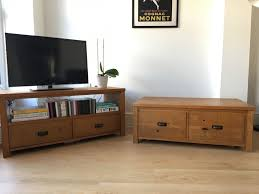 trunk tv stand. Delighful Stand Oak Coffee Table Trunk And TV Stand  Rustic Farmhouse Style And Trunk Tv Stand