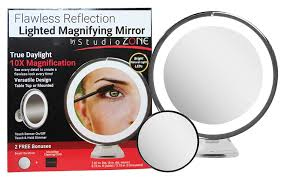 best lighted makeup mirror travel lighted makeup mirror 15x magnifying mirror