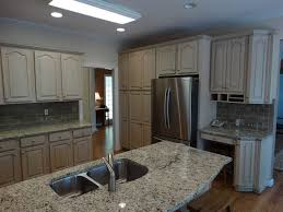 Raised Kitchen Floor Traditional Kitchen With Hardwood Floors Kitchen Island In