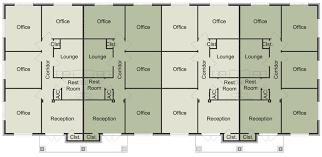 office floor plans. Plain Office 4Unit Floor Plan B Throughout Office Plans