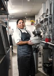 dishwasher job. eden vazquez works as a dishwasher at star provisions and bacchanalia. job
