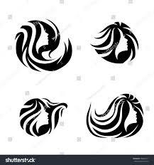 Spa Salon Logo Design Woman Beauty Spa Salon Logo Design Stock Vector Royalty