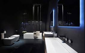 modern bathroom lighting luxury design. plain design rifra luxury modern bathroom designs with light effect for modern bathroom lighting design e