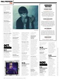 New York Magazine Design New York Magazine Culture Pages Fall Preview 2016 Fonts