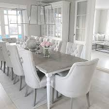 grey and white dining room. Delighful White White Dining Room Table Chairs Custom Romantic Sets On Gray  Com Intended Grey And