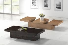 Hidden Storage Modern Coffee Table Sets Brown Baxton Cambridge Vintage  Style Oak Coffee Tables And End Tables