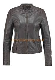 affordable pepe jeans jackets chocolate c6032479 women s leather jackets leather jacket