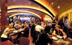 busy restaurant scene. Wonderful Scene BUSTLING The Busy Dining Room At Sugar A Combination Restaurant And  Nightclub Credit Kathy Kmonicek For New York Times In Busy Restaurant Scene S