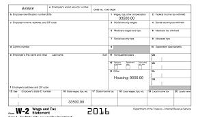 Income Tax W2 Form Lobo Black