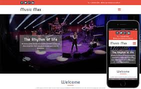 Event Website Template Enchanting Music Web Templates W48layouts