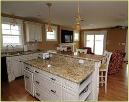 White Kitchen With Granite Granite Countertop White Cabinets