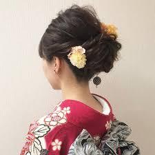 振袖に似合うヘアアレンジ12選成人式はこれで決まりfeelyフィーリー