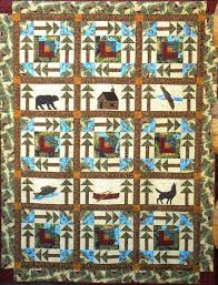 15 best quilt debbie field images on Pinterest | Fields, Paper ... & All Around the Cabin Northwoods quilt pattern by Granola Girl Designs  designer Debbie Field Adamdwight.com