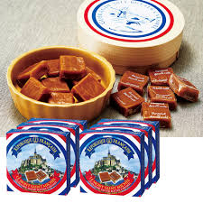 france gifts le mont saint michel salt caramel 6 box set france souvenirs france gift france souvenirs overseas souvenirs 10p24dec15
