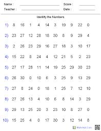 Kindergarten Number Worksheets Worksheets for all   Download and ...