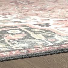 brown and grey area rugs bungalow rose dario peach pink area rug reviews wayfair blue grey