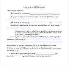 child visitation agreement form child custody agreement form gallery agreement letter format