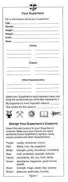 Characteristics Of A Superhero Gile Sig Newsletter