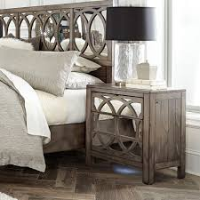 wood and mirrored furniture. Wonderful And Tildon Wood Mirrored Two Drawer Nightstand In Mink Inside And Furniture W