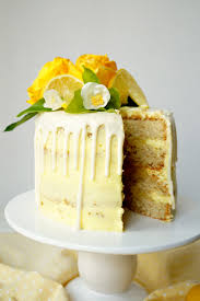Vegan Lemon Curd Layer Cake The Baking Fairy