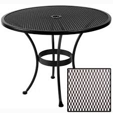 ow lee standard mesh 36 inch round dining table 36 mu 60 inch round patio tablecloth