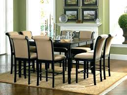 dining table 8 seats person and chairs round square room scenic