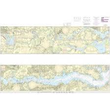 Noaa Chart 12237 Rappahannock River Corrotoman River Fredericksburg