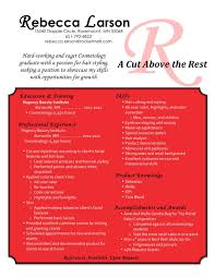 Cosmetology Resume Samples Creative Cosmetology Resume Creative Cosmetology Resume we provide 22