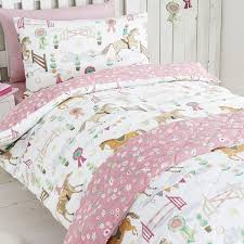 horse show duvet sets curtains kids