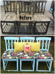 diyhowto diy ways to repurpose old chairs ideas