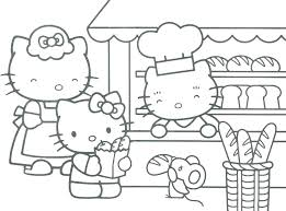 Coloring Pages Hello Kitty Coloring Pages Printable Free On Book