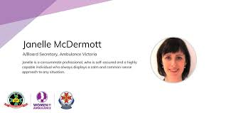 """The Council of Ambulance Authorities בטוויטר: """"Janelle McDermott ..."""