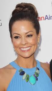 tips for 40 year olds 40 year old new celebrity hairstyles middot brooke burke 39 s playful purple blue eye makeup