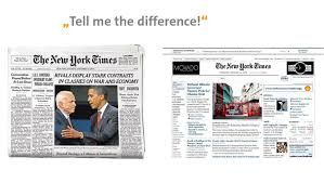 The Changing Times Newspaper Template Who Says Paper Is Dead Business Model Innovation In The