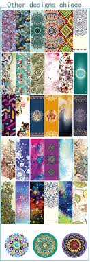 Fabric With Yoga Designs Anti Tear High Quality Printed Suede Fabric German Yoga Mat