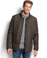 Barbour Powell Quilted Jacket - Coats & Jackets - Men - Macy's & Barbour Powell Quilted Jacket Adamdwight.com