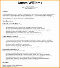 Dental Assistant Resume Dental assistant Resume Sample Awesome 100 Dental assistant Cv 87