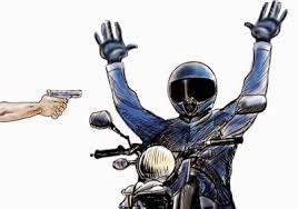 Resultado de imagem para moto tomada de assalto imagem ilustrativa