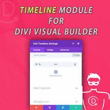 Picture Timeline Divi Timeline Module For Visual Builder