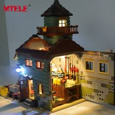 lego lighting. Note : Not Include The Old Fishing Store , Using Less Than Power 5V Or Bank And USB Hub Lego Lighting B