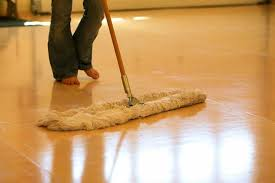 how to clean sheet vinyl floors