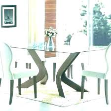 round glass topped dining table dining chairs for glass table round glass top dining table set