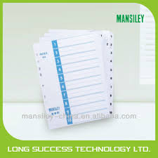 tab index cards custom print a4 folder tab dividers index cards buy a4 folder tab