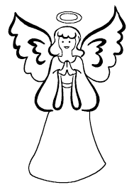 Small Picture Coloring Pages Christmas Stained Glass With Angel Coloring Page