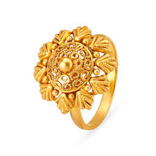 Traditional Ring Designs In Gold 22kt Gold Traditional Design Finger Ring